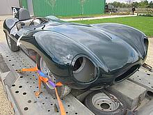 Jaguar D-type paint job